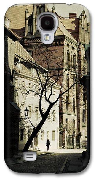Person Galaxy S4 Cases - Evening in Wroclaw Galaxy S4 Case by Wojciech Zwolinski