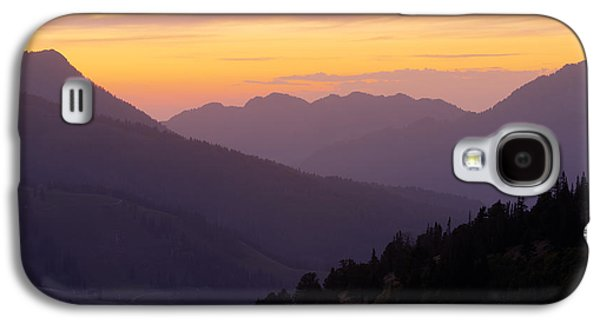 Warm Tones Galaxy S4 Cases - Evening Layers Galaxy S4 Case by Chad Dutson
