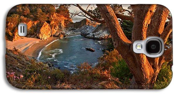 Big Sur Ca Galaxy S4 Cases - Evening Light At Pfeiffer Burns Galaxy S4 Case by Adam Jewell