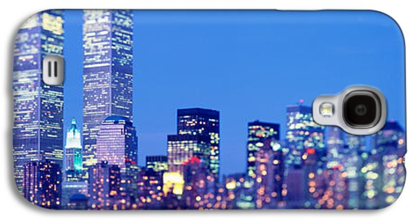 Business Galaxy S4 Cases - Evening, Lower Manhattan, Nyc, New York Galaxy S4 Case by Panoramic Images
