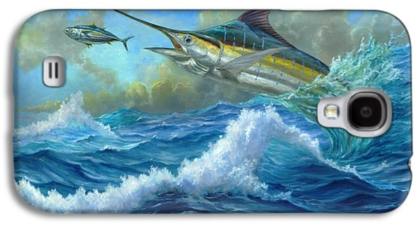 Marlin Azul Galaxy S4 Cases - Evening Meal Galaxy S4 Case by Terry  Fox