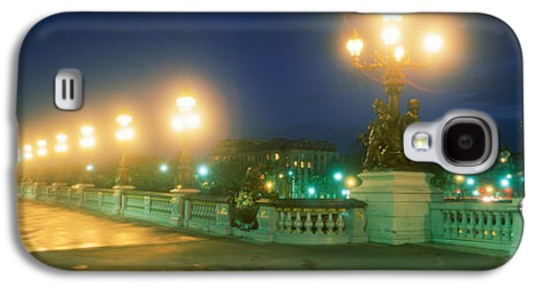 Quiet Time Photographs Galaxy S4 Cases - Evening Paris France Galaxy S4 Case by Panoramic Images