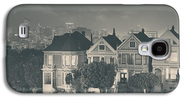 Monotone Galaxy S4 Cases - Evening Rendezvous Galaxy S4 Case by Laurie Search