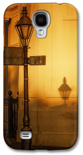 Brenda Bryant Photography Galaxy S4 Cases - Evening Shadow in Jackson Square Galaxy S4 Case by Brenda Bryant
