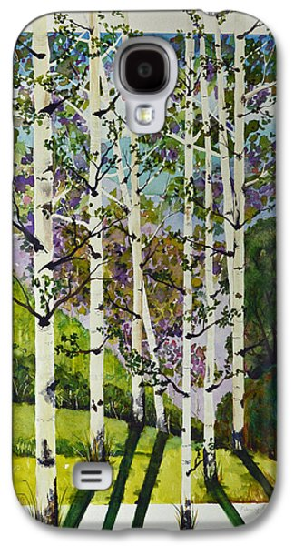 Quaker Paintings Galaxy S4 Cases - Evening Shadows Galaxy S4 Case by Terri Robertson
