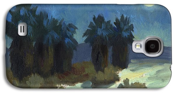 Moonrise Galaxy S4 Cases - Evening Solitude Galaxy S4 Case by Diane McClary