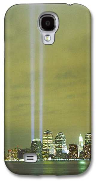 Wtc 11 Galaxy S4 Cases - Evening, Towers Of Light, Lower Galaxy S4 Case by Panoramic Images