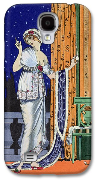 20s Galaxy S4 Cases - Evening wear from Costume Parisien Galaxy S4 Case by Robert Pichenot