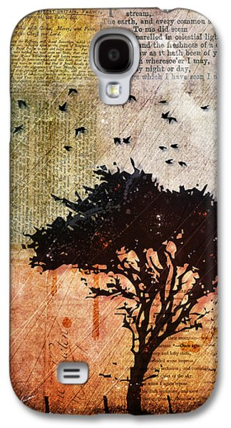 """textured Art"" Galaxy S4 Cases - Eventide Galaxy S4 Case by Gary Bodnar"