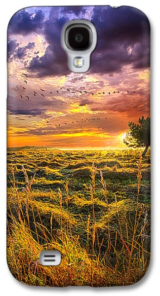 Vertical Flight Galaxy S4 Cases - Every Story Has A Beginning Galaxy S4 Case by Phil Koch