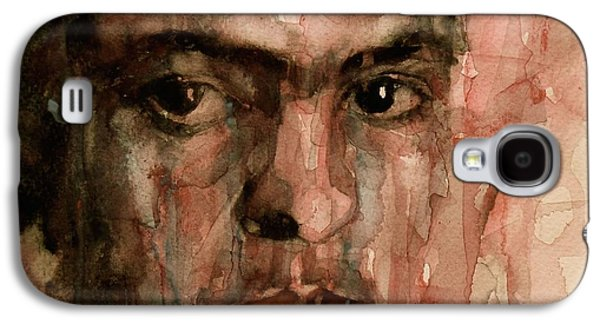 Self-portrait Galaxy S4 Cases - Everybody Hurts Galaxy S4 Case by Paul Lovering