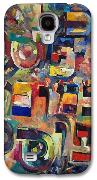 Subconscious Paintings Galaxy S4 Cases - Everyone that discounts another it is with his own fault that he discounts the other Galaxy S4 Case by David Baruch Wolk