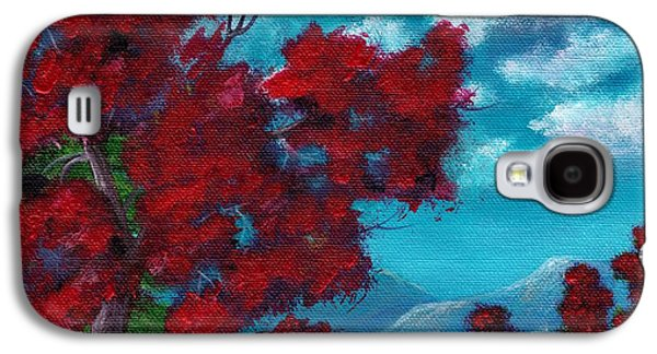 Thought Drawings Galaxy S4 Cases - Everything Autumn Galaxy S4 Case by Anastasiya Malakhova