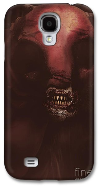Evil Greek Mythology Minotaur Galaxy S4 Case by Jorgo Photography - Wall Art Gallery