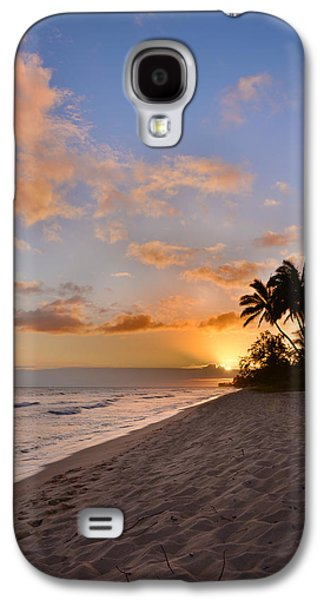 Scenes Photographs Galaxy S4 Cases - Ewa Beach Sunset 2 - Oahu Hawaii Galaxy S4 Case by Brian Harig