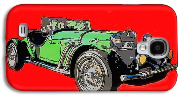 Appleton Photographs Galaxy S4 Cases - Excalibur car  Galaxy S4 Case by Toppart Sweden