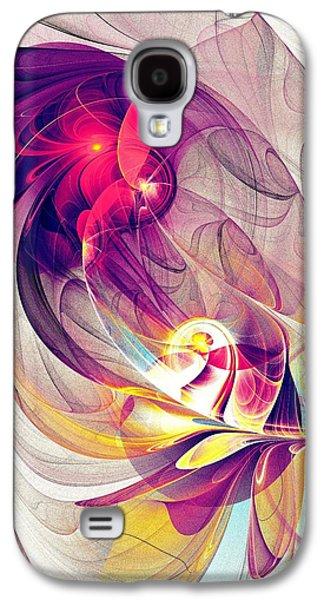 Digital Galaxy S4 Cases - Exhilarated Galaxy S4 Case by Anastasiya Malakhova