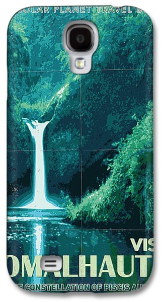 Exoplanet 04 Travel Poster Fomalhaut B Galaxy S4 Case by Chungkong Art