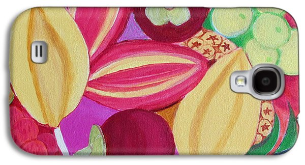 Exotic Fruit Bowl Galaxy S4 Case by Toni Silber-Delerive