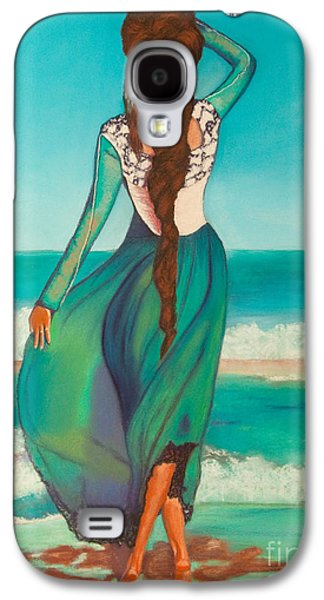 Original Art Pastels Galaxy S4 Cases - Expectations Galaxy S4 Case by Dana Kern