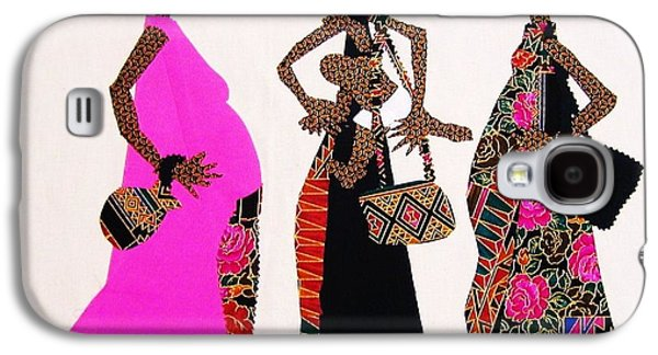 African-americans Tapestries - Textiles Galaxy S4 Cases - Expectations Galaxy S4 Case by Ruth Yvonne Ash