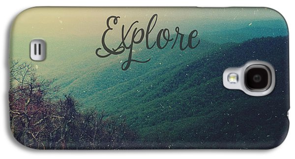 Explore Galaxy S4 Case by Joy StClaire