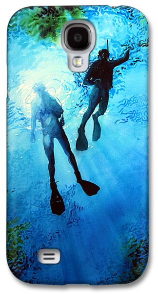 Sports Artist Galaxy S4 Cases - Exploring New Worlds Galaxy S4 Case by Hanne Lore Koehler