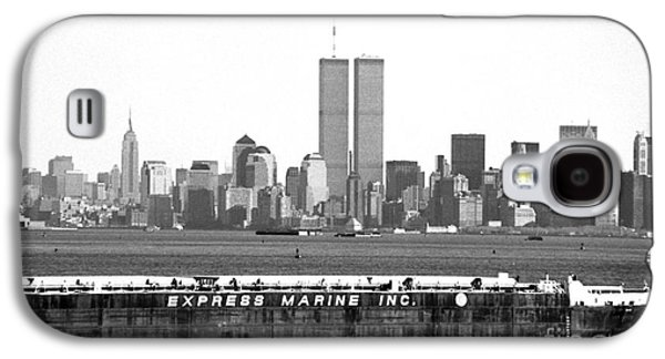 Twin Towers Nyc Galaxy S4 Cases - Express Marine Inc. 1990s Galaxy S4 Case by John Rizzuto