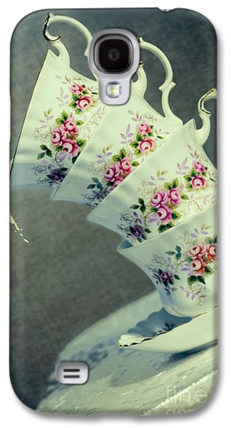 Table Cloth Galaxy S4 Cases - Extreme Tilt Galaxy S4 Case by Amanda And Christopher Elwell