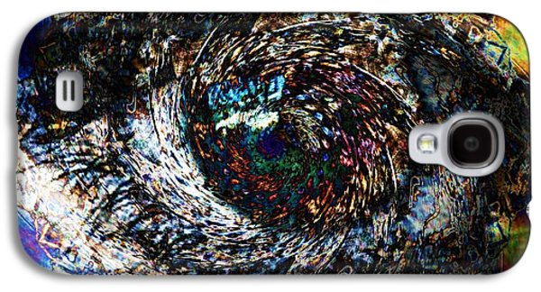 Deceptive Galaxy S4 Cases - Eye Of A Hurricane Called You Galaxy S4 Case by Elizabeth McTaggart