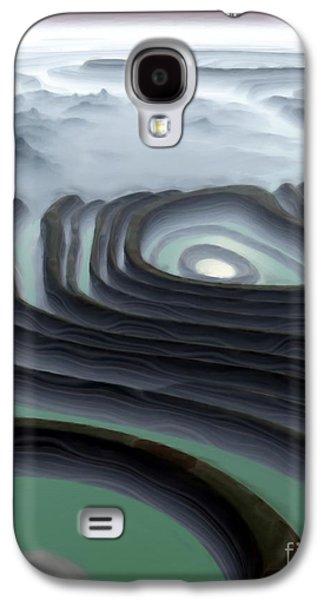 Eye Of The Minotaur Galaxy S4 Case by Pet Serrano