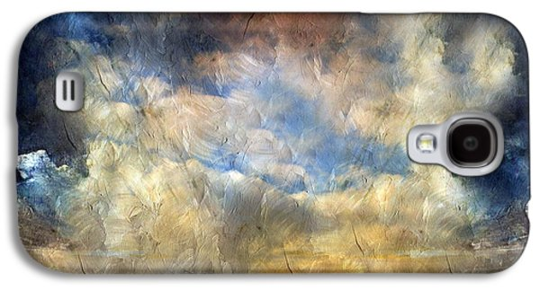 Abstract Digital Mixed Media Galaxy S4 Cases - Eye Of The Storm  - Abstract Realism Galaxy S4 Case by Georgiana Romanovna
