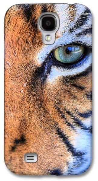 The Tiger Galaxy S4 Cases - Eye of the Tiger Galaxy S4 Case by JC Findley