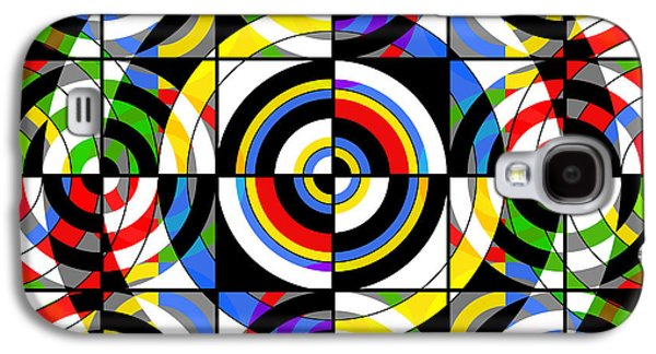 """""""square Art"""" Galaxy S4 Cases - Eye On Target Galaxy S4 Case by Mike McGlothlen"""