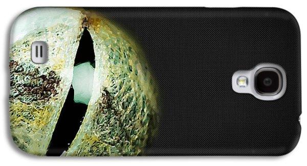 Reptiles Digital Galaxy S4 Cases - Eyes - Gateway to the Soul. Snake Eye of Wisdom. Galaxy S4 Case by Serge Averbukh