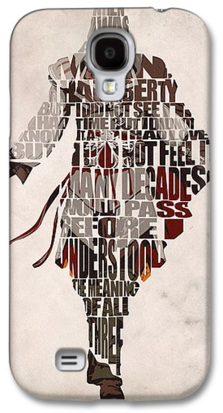 Minimalist Poster Galaxy S4 Cases - Ezio Auditore da Firenze from Assassins Creed 2  Galaxy S4 Case by Ayse Deniz