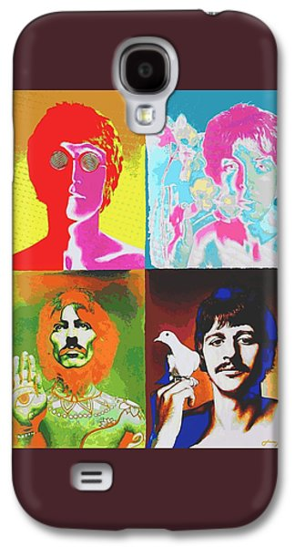 Recently Sold -  - Beatles Galaxy S4 Cases - Fab Four Galaxy S4 Case by Dan Haraga