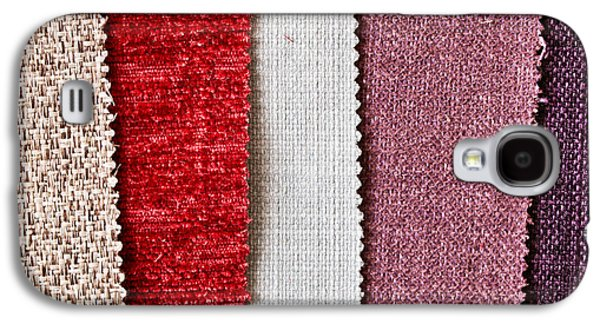 Sample Galaxy S4 Cases - Fabric swatch Galaxy S4 Case by Tom Gowanlock
