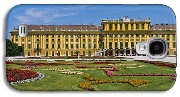 Garden Scene Galaxy S4 Cases - Facade Of A Building, Schonbrunn Galaxy S4 Case by Panoramic Images