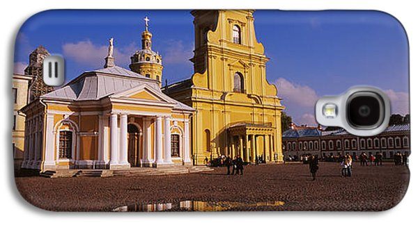Person Galaxy S4 Cases - Facade Of A Cathedral, Peter And Paul Galaxy S4 Case by Panoramic Images
