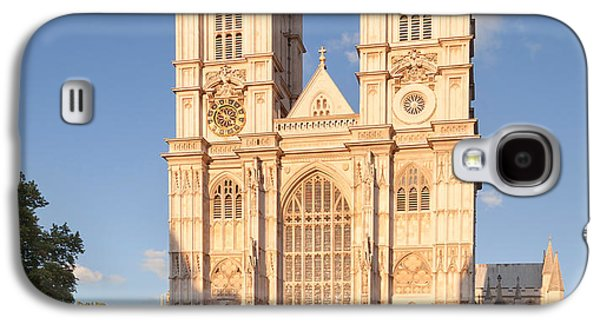 Facade Of A Cathedral, Westminster Galaxy S4 Case by Panoramic Images
