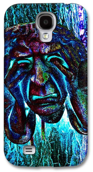Inner Self Galaxy S4 Cases - Face Sculpture Of A Town Crier Galaxy S4 Case by Annie Zeno