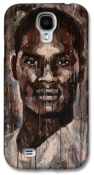 African-american Galaxy S4 Cases - Face to Face Galaxy S4 Case by Douglas Simonson
