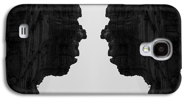 Surreal Landscape Galaxy S4 Cases - Face To Face Montage II Galaxy S4 Case by Dave Gordon