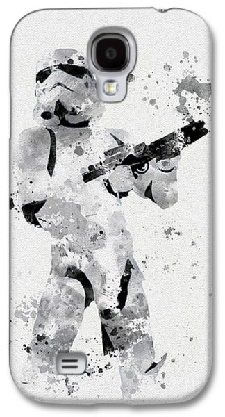 Faceless Enforcer Galaxy S4 Case by Rebecca Jenkins