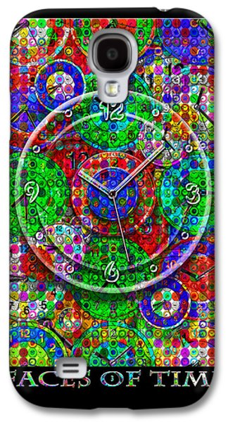Face Mixed Media Galaxy S4 Cases - Faces Of Time 3 Galaxy S4 Case by Mike McGlothlen