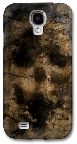 Creepy Digital Art Galaxy S4 Cases - Facing Reality Galaxy S4 Case by Jacob King