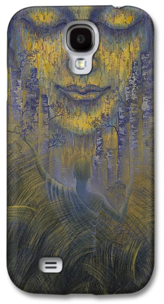 Unity Paintings Galaxy S4 Cases - Facing the truth Galaxy S4 Case by Vrindavan Das