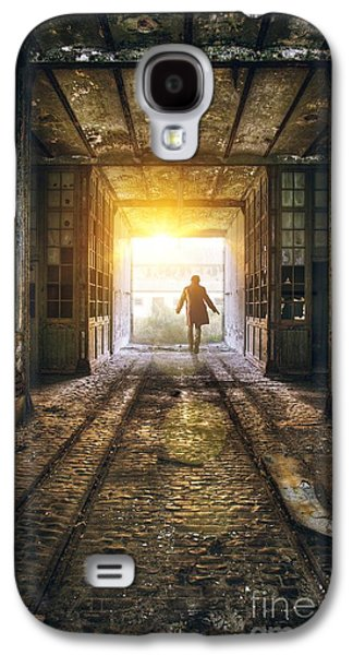 Messy Photographs Galaxy S4 Cases - Factory Chase Galaxy S4 Case by Carlos Caetano