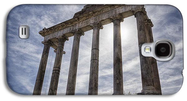 Ancient Galaxy S4 Cases - Faded Glory of Rome Galaxy S4 Case by Joan Carroll